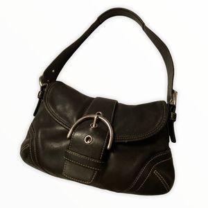 Coach Vintage Black Leather Soho Bag